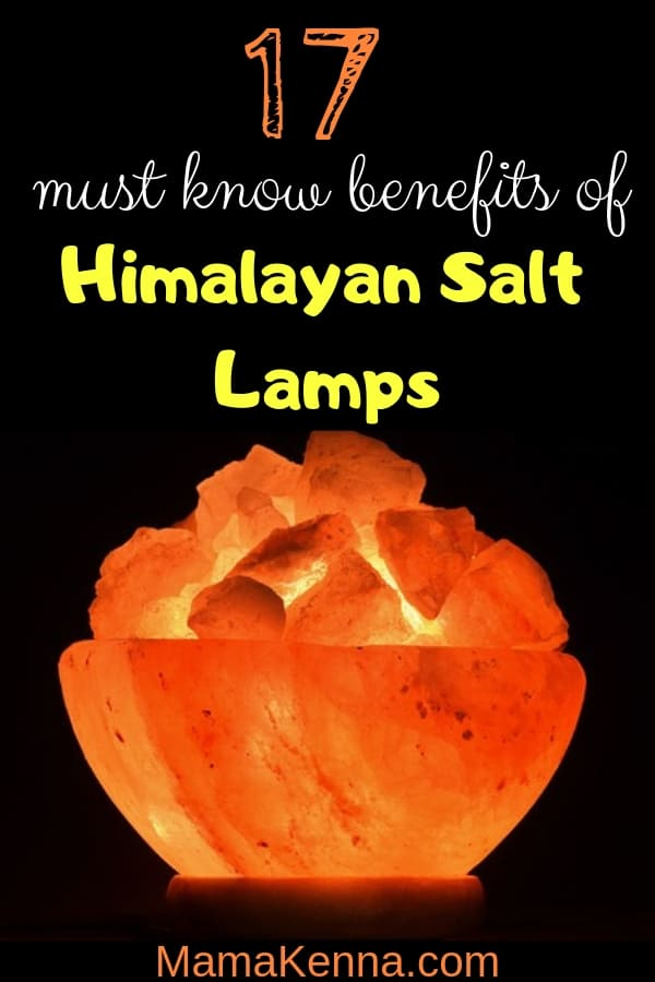 Pinterest 17 Must Know Benefits of Himalayan Salt Lamps. Himalayan salt lamp glowing in the dark.
