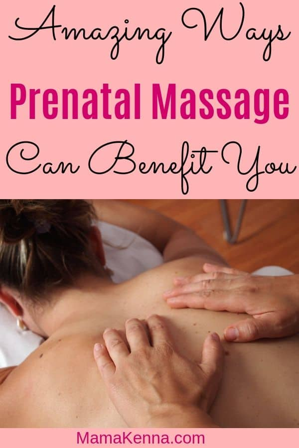 Amazing Ways prenatal massage can benefit you pinterest. Woman getting Massaged.