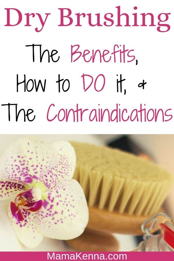 Dry Brushing the benefits, how to do it, and the contraindications pinterest