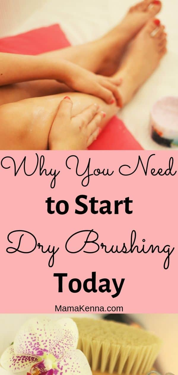 Why You Need to start dry brushing today pinterest