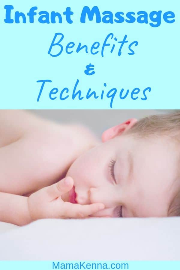 Infant Massage benefits and techniques pinterest. baby laying down relaxing