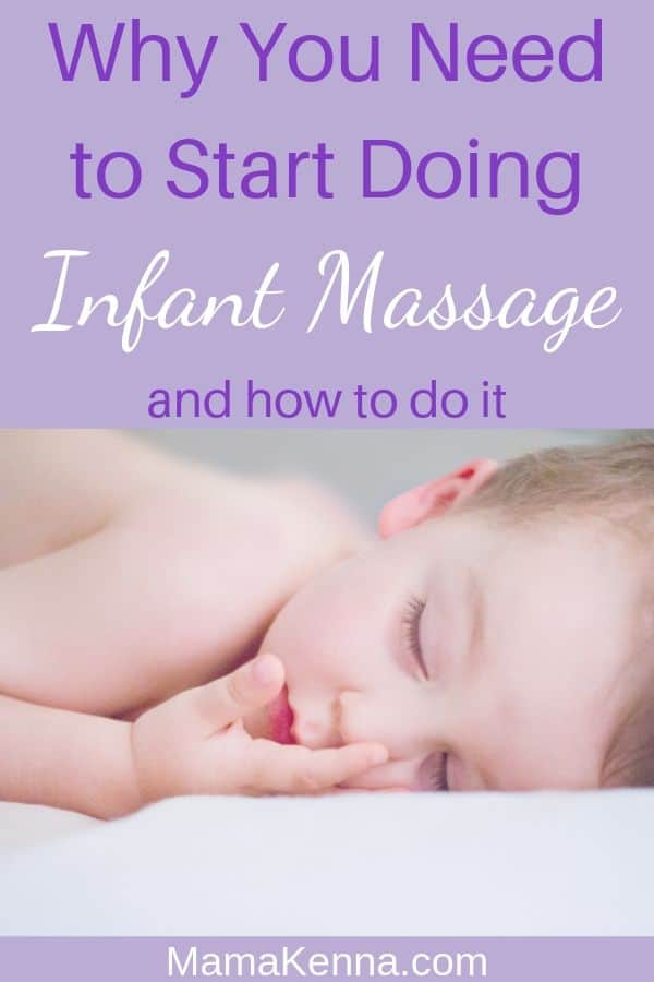 Why You Need to Start Doing infant massage and how to do it pinterest. baby laying down relaxing