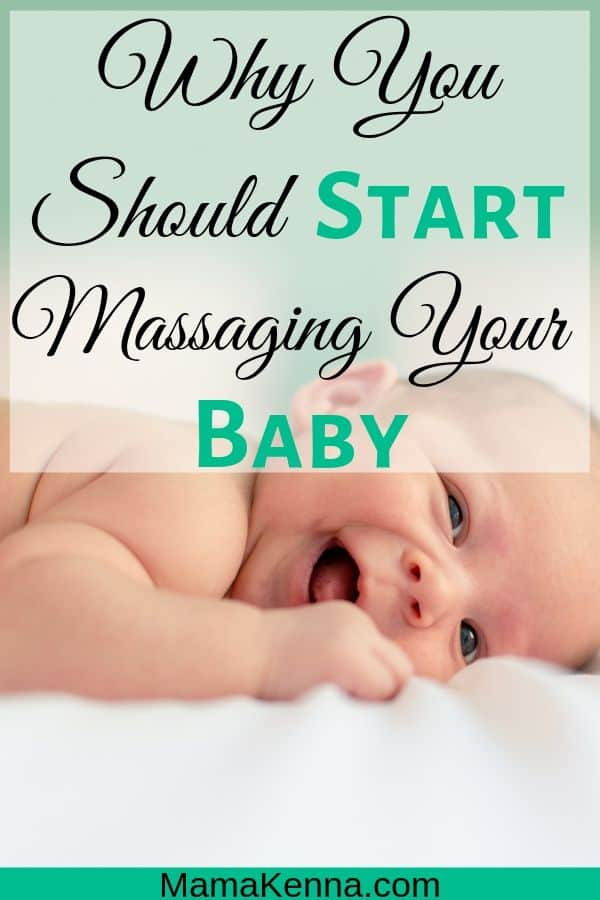 Why You Should start massaging you baby pinterest. baby laying down relaxing